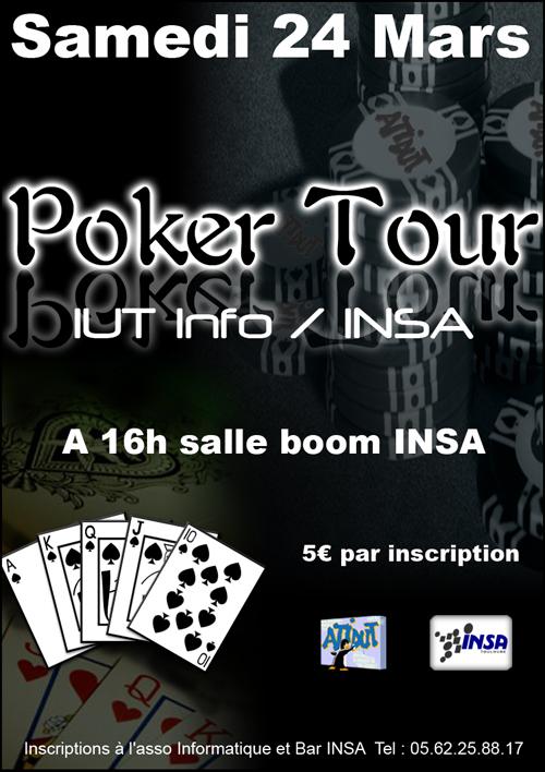 Poker Tour 24 Mars 2007