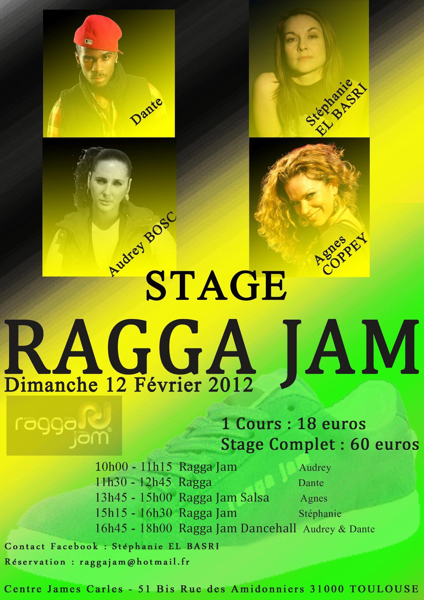 Ragga Jam 12 février