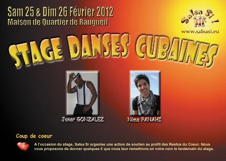 Stage de danses Cubaines